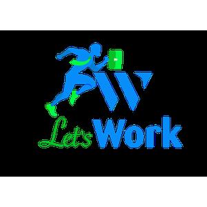 Let's Work logo